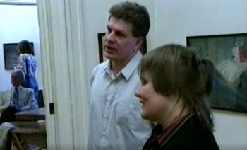 Kersti Rattuse maalinäitus Rodney Bradbury eragaleriis Uppsalas 1991