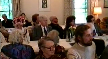 Church Service in Uppsala in 1991 to Support the Restoration of Independence of Estonia