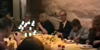 Party for Heljo, Kaidi and Marika in 1990