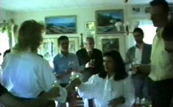 Heino and Emily's Engagement Party in Askvägen in 1989