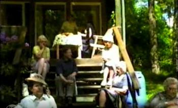 Summer Celebration of Expatriate Estonian Writers' Association in Väddö on June 18, 1983