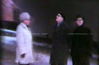 August Sang, Kalju Lepik and Arvo Mägi in Uppsala on January 2nd, 1968