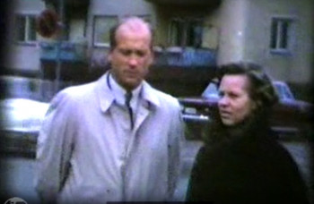 Hellar and Irja Grabbi in Gröna Street on October 13th, 1968
