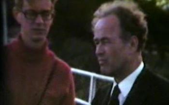 Raimond and Ellen Kolk in Skarholmen on August 19, 1973
