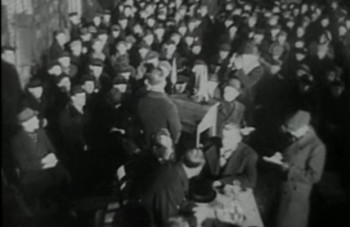 Valimiseelne koosolek Punalipulise Balti Laevastiku Laevaremonditehases