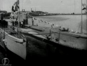 Eesti allveelaeva Lembitu saabumine