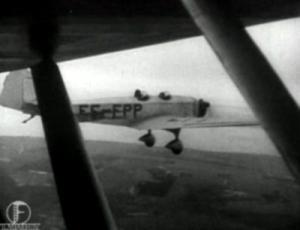 Eesti Aeroklubi harjutuslennud Ülemiste lennuväljal. Täpsusmaandumise võistlused