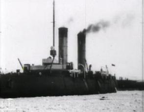 Vene jäälõhkujad sadamas. Svjatogor, Lenin ja Burka