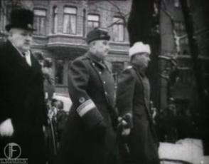 Sõjavägede Ülemjuhataja kindral J.Laidoner Eesti Vabadussõjast osavõtnud Soome Vabatahtlike pidustusil