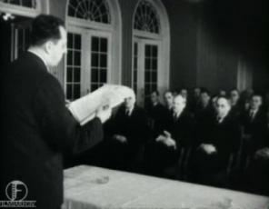 Kirjanduslike auhindade kätteandmine 18. mail 1937. aastal