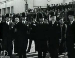 Riigihoidja K. Päts läheb külaskäigule Soome Vabariiki 30. augustil 1937. aastal