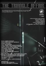 Kolmnurga afäär. Ingliskeelne plakat Nukufilm