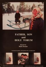 Isa, poeg ja Püha Toorum. Ingliskeelne plakat Eesti Filmi Sihtasutuse kogu
