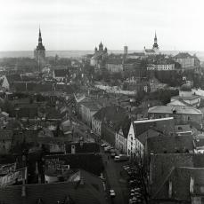 Toompea Castle throughout the years