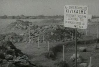 Arheoloogilistel väljakaevamistel Väo kivikalmetel