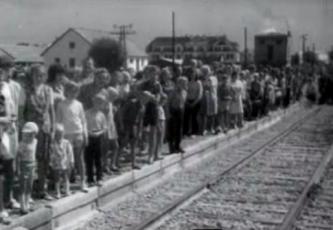 Esimene rong laiarööpmelisel raudteel Türile