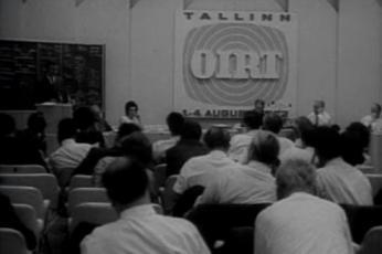 OIRT'i sümpoosion Eesti Raadio uues majas