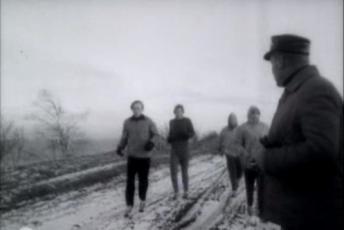 Iisaku kooli abituriendid Ülo Kriisa ja Enn Sellik - NSV Liidu paremaid noorjooksjaid