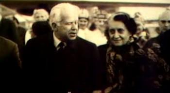 India Vabariigi peaministri Indira Gandhi külaskäik Tallinna