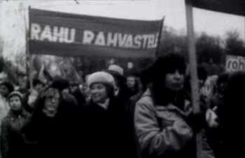 Oktoobridemonstratsioon Tallinnas