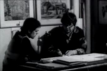 ENSV teeneline kunstnik professor Salme Raunam 60-aastane