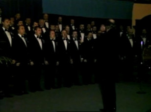 Estonian National Male Choir concert in the Convocation Hall of Toronto University (1)