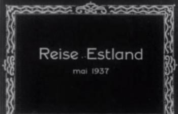 Ringreis Eestis mais 1937