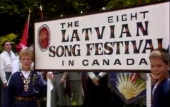 8th Latvian Song Festival in Toronto 6 July 1986 1/2