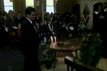 Läti jaanuarisündmuste 1991 ohvrite mälestusteenistus Püha Andrease kirikus Torontos