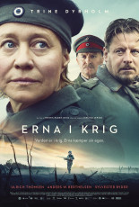 Erna on sõjas. Filmi plakat taani keeles Nimbus Film, Nafta Films, Entre Chien et Loup