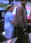Ellen Niit and Jaan Kross in Gröna Street on July 1st, 1969
