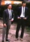 Aarand Roos, Elmar Pettai and Paul Laan in Askvägen on May 18, 1970