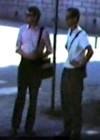Raal Kivi ja Arno Raag Uppsalas 17.08.1973